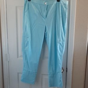 Chico's Turquoise Pants - Size 3 - Large